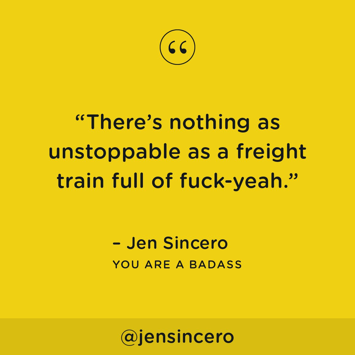 "Jen Sincero Quotes Jen Sincero On Twitter ""just See What You Can Get Away Withtake"