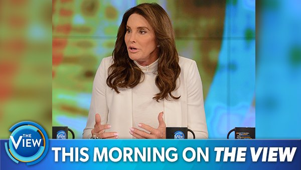 THIS MORNING ON @TheView: Special guest co-host @Caitlyn_Jenner joins the table for a full day of #HotTopics