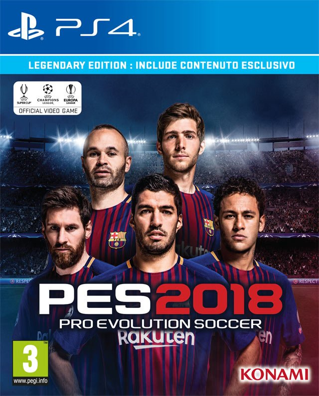 PES 2018 cover
