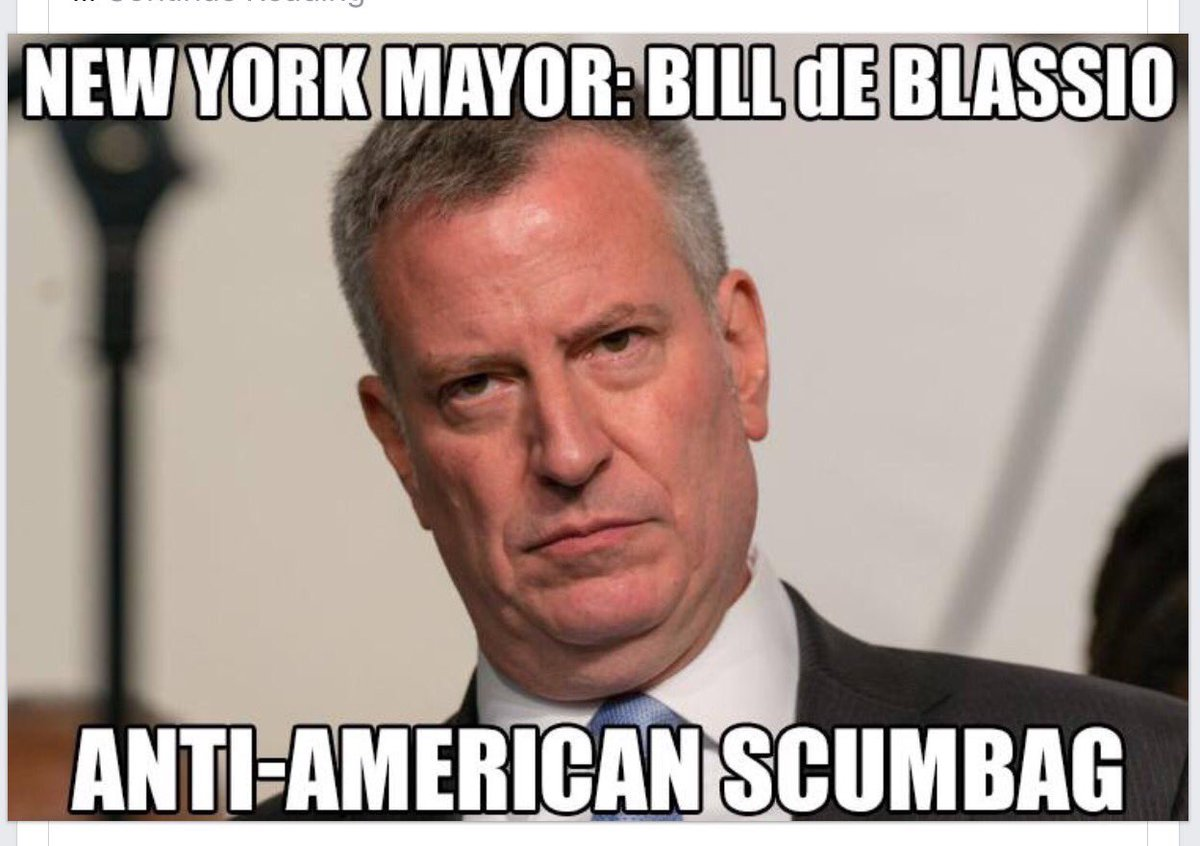 "Mayor Bill de Blasio on Twitter: ""We have a thunderstorm watch and ..."