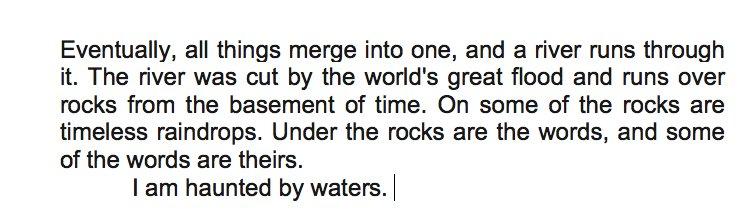 Robert Macfarlane On Twitter Norman Macleans A River Runs Through