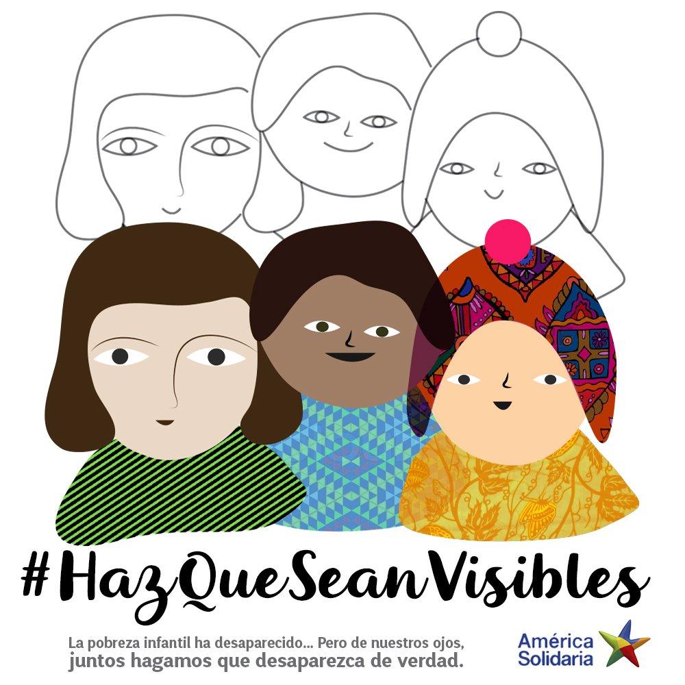 No podemos permitir que nuestros niñ@s sigan viviendo en situación de pobreza y exclusión! #HazQueSeanVisibles https://t.co/gq49WaJKmk