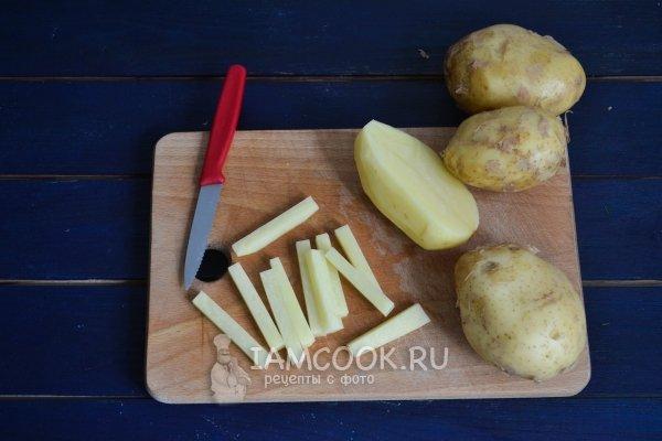 Рецепт картошка толченая