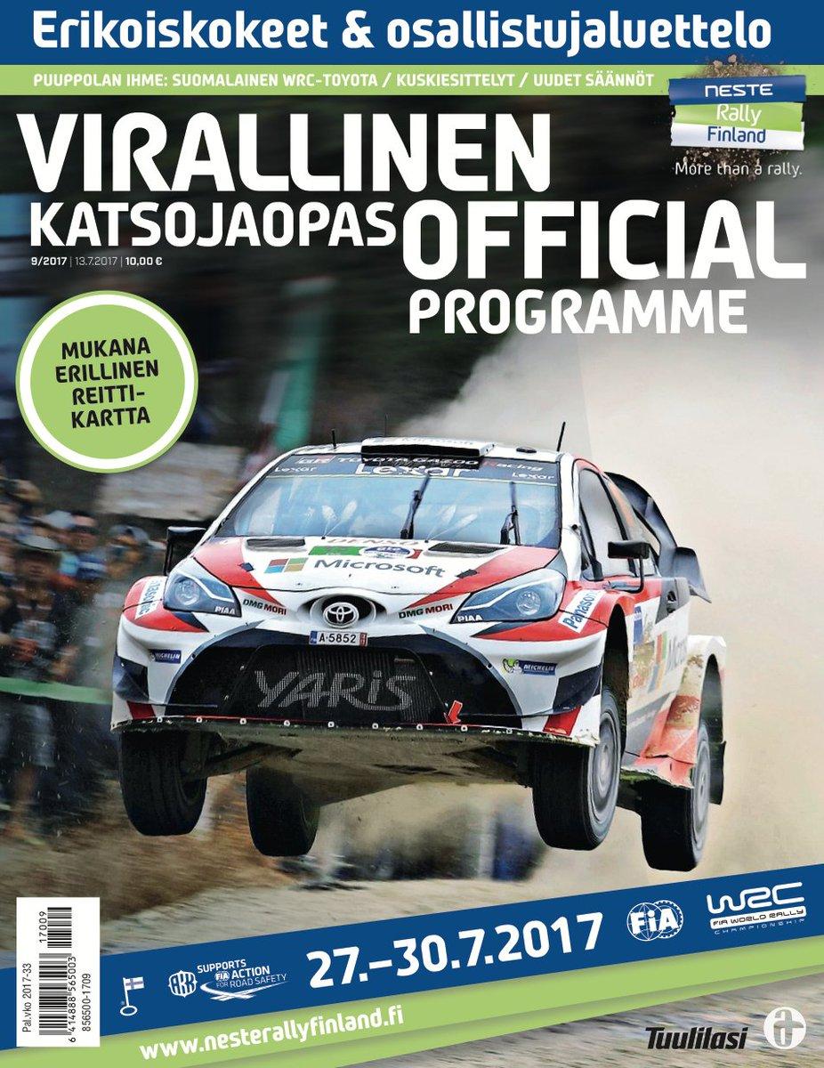 Neste Rally Finland On Twitter Fin Virallinen Katsojaopas Nyt