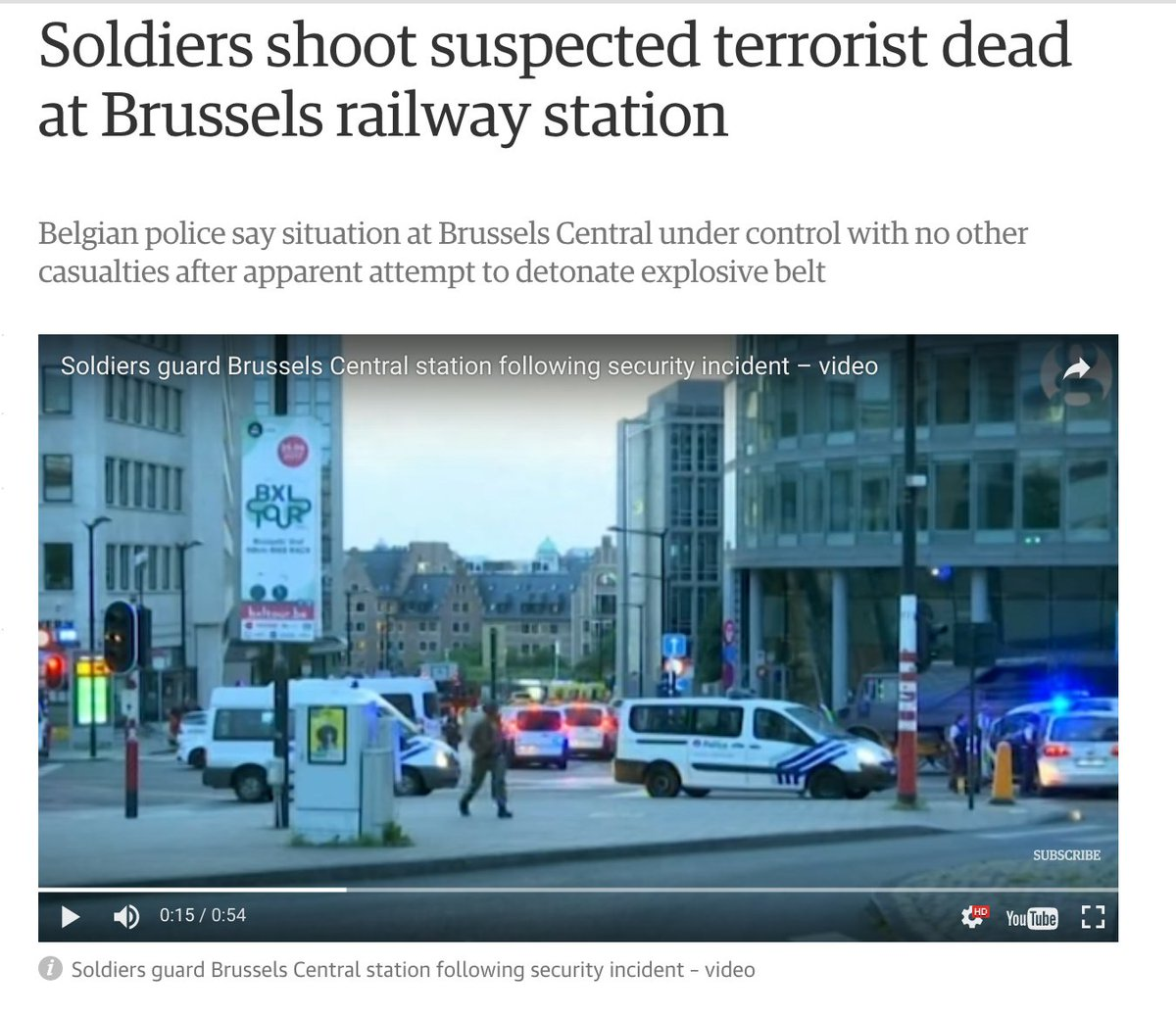 4) #ISIS #Rumiyah 11 reports that unclaimed attacks at #Champs-Elysees (6/19) &amp; #Brussels (6/20) carried out by &quot;soldier[s] of the Khilafah&quot;<br>http://pic.twitter.com/W4yFrRED9m