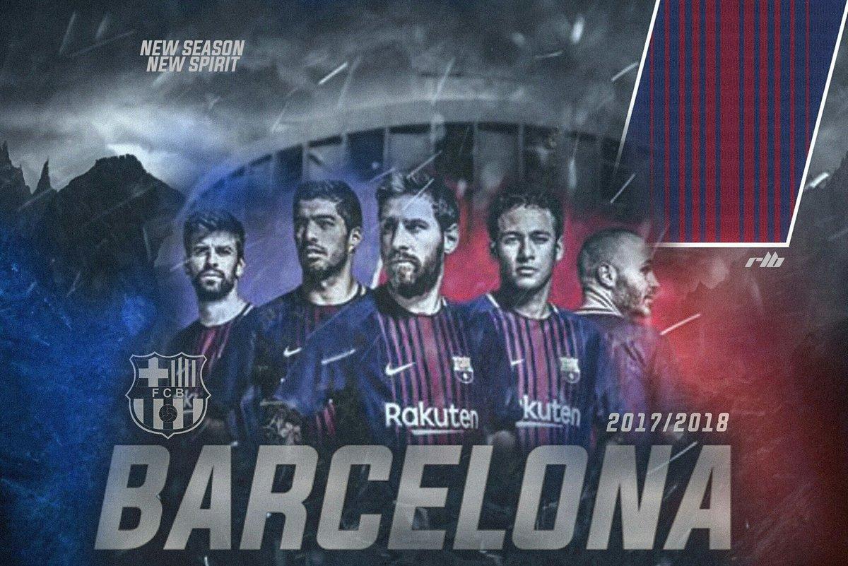 Riolovebarca On Twitter Barca 201718 Desktop Wallpaper