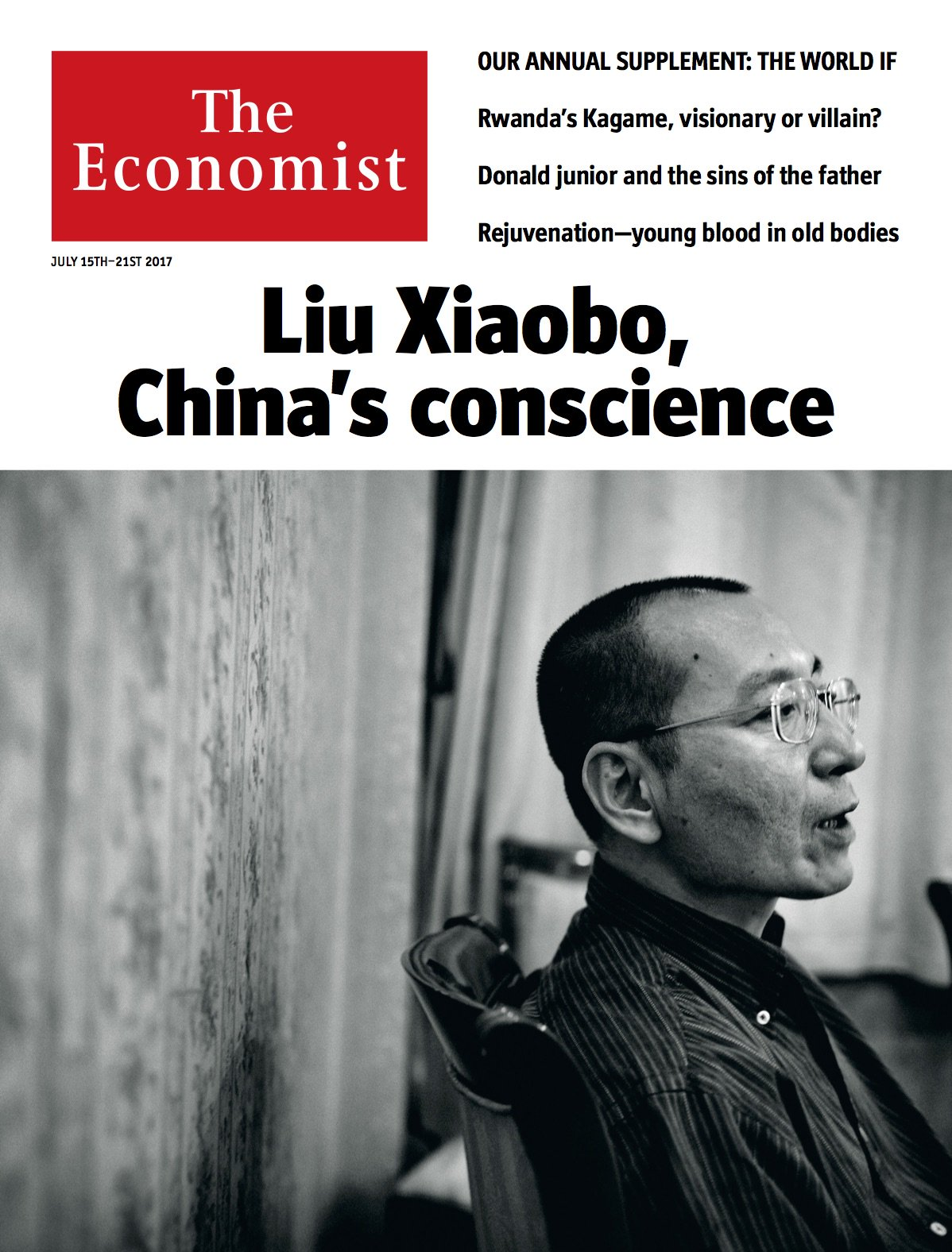 Liu Xiaobo has died. His dignified calls for freedom for China's people made him a global giant of moral dissent