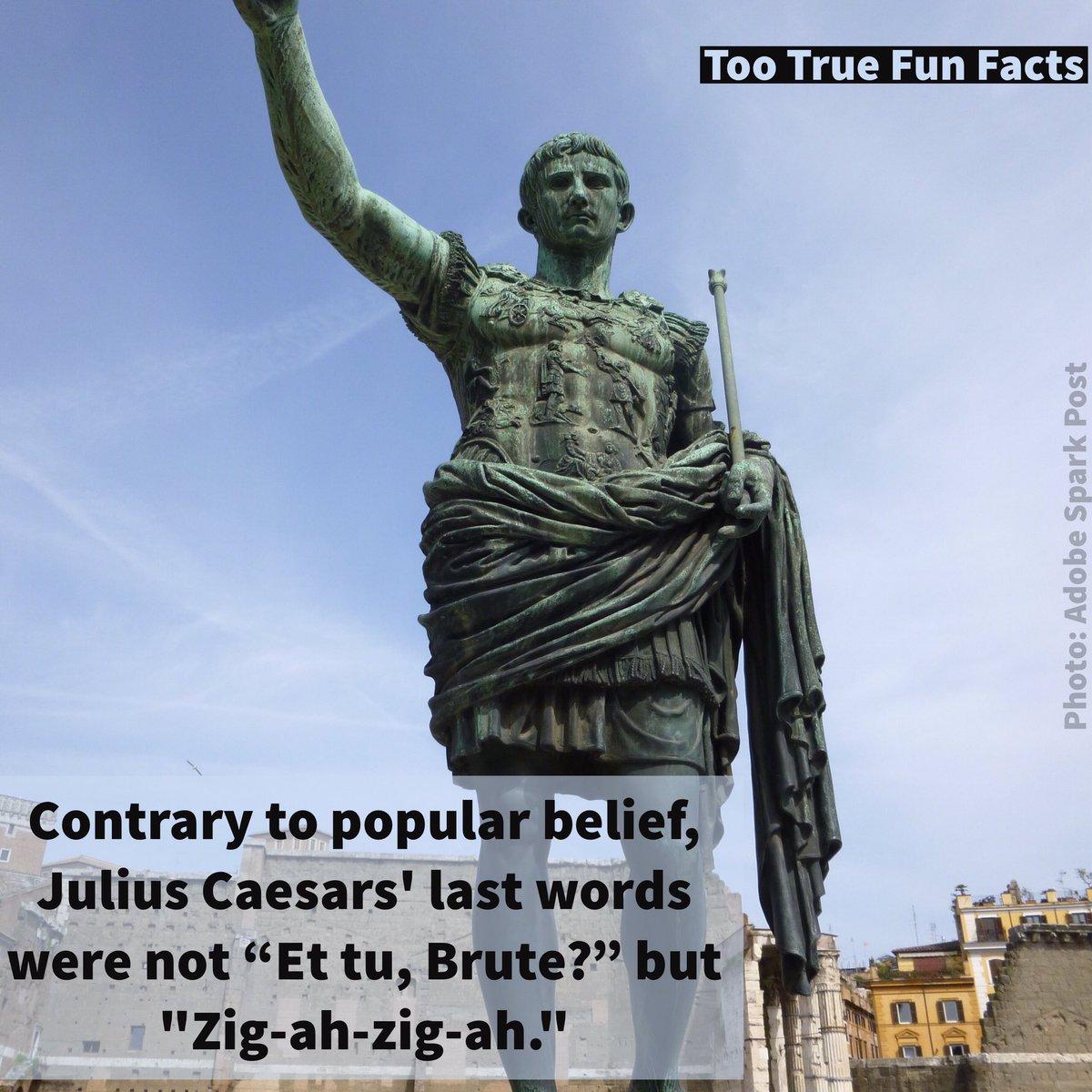 Too True Fun Facts در توییتر History Fun Fact History