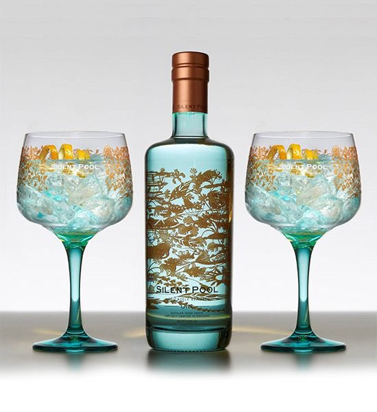 The gin guide theginguide twitter - Silent pool gin ...