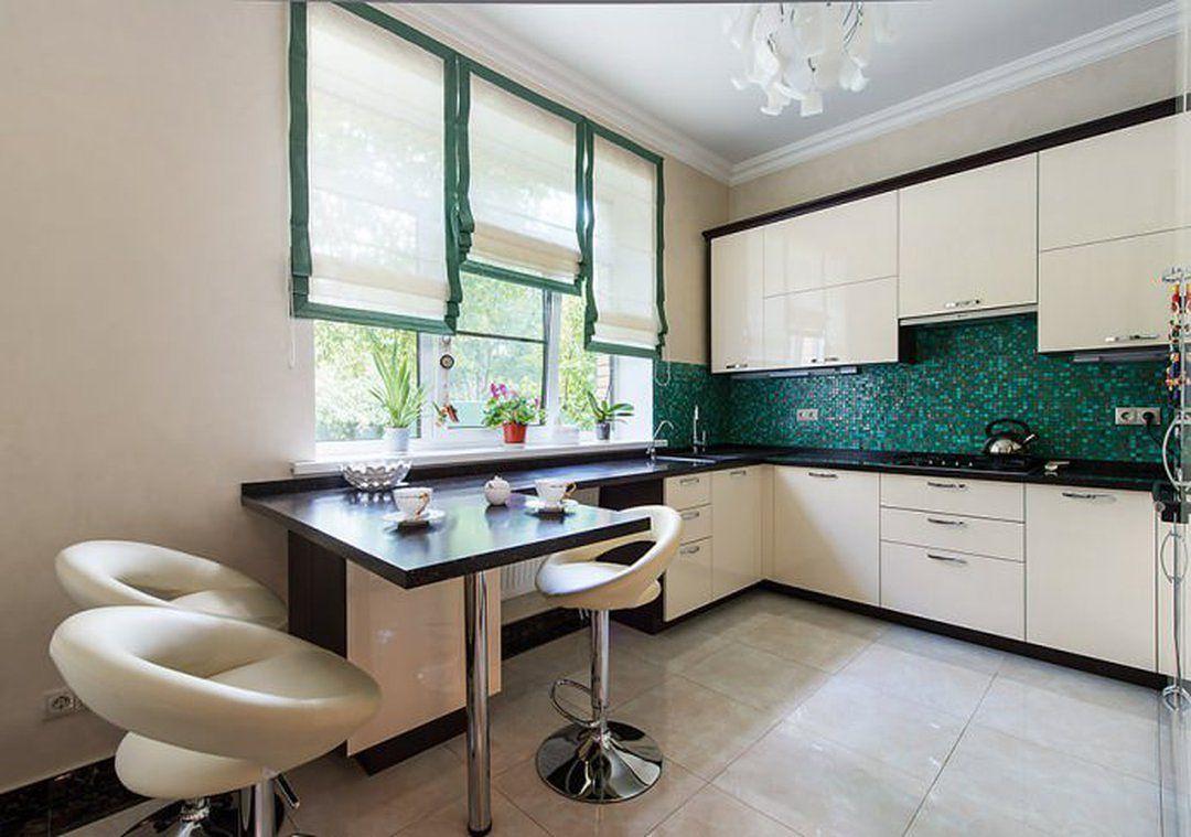 Современная кухня с барной стойкой: дизайн, 60 фото в интерь.