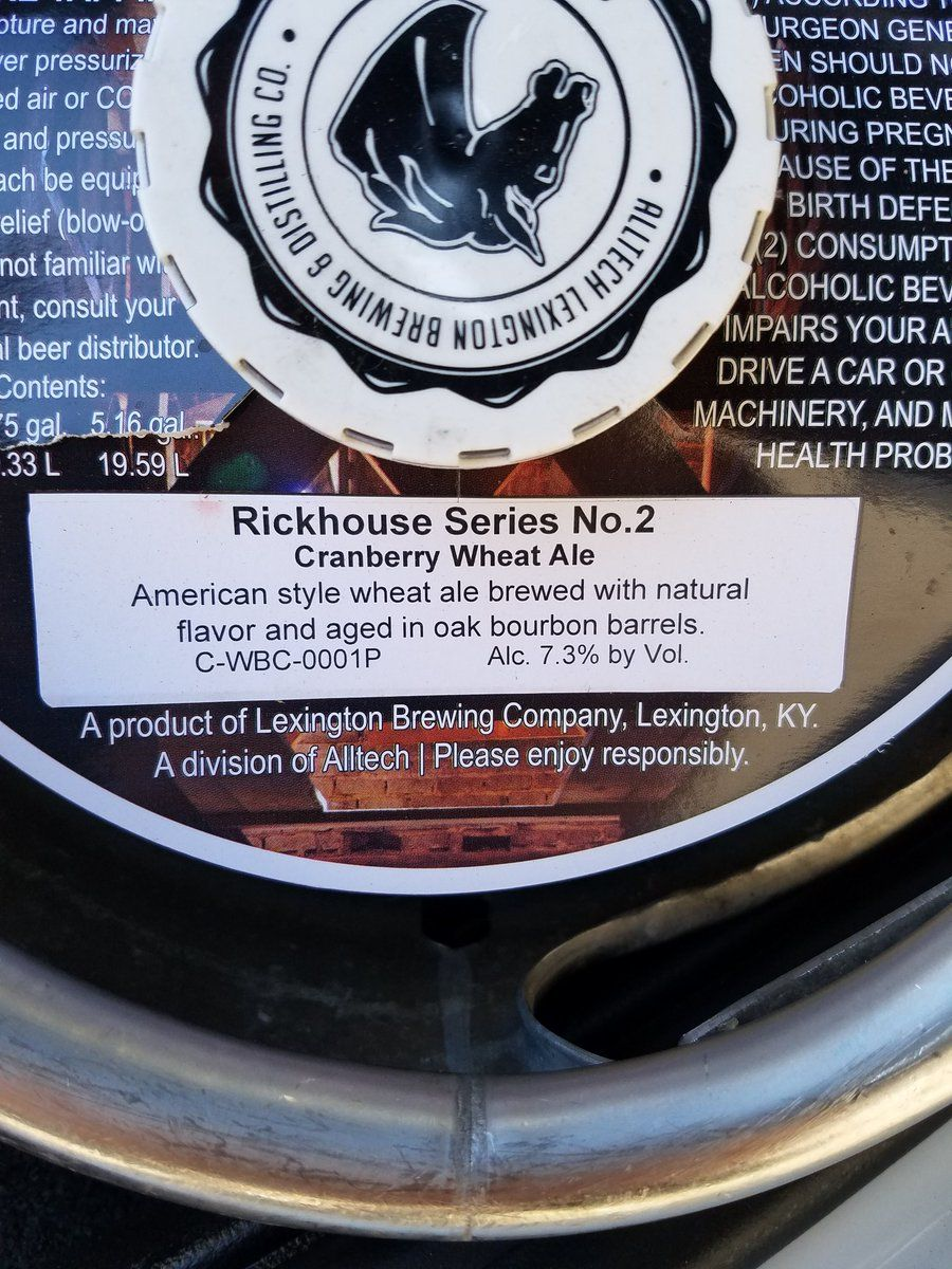#Kentucky #Rickhouse #Cranberry #Wheat from #GrowlerStation to the #TastingBar 5-7p w/ #SpecialPrice  http:// buff.ly/2ufpYq6  &nbsp;   @KentuckyAle<br>http://pic.twitter.com/BCrtx2p9wv