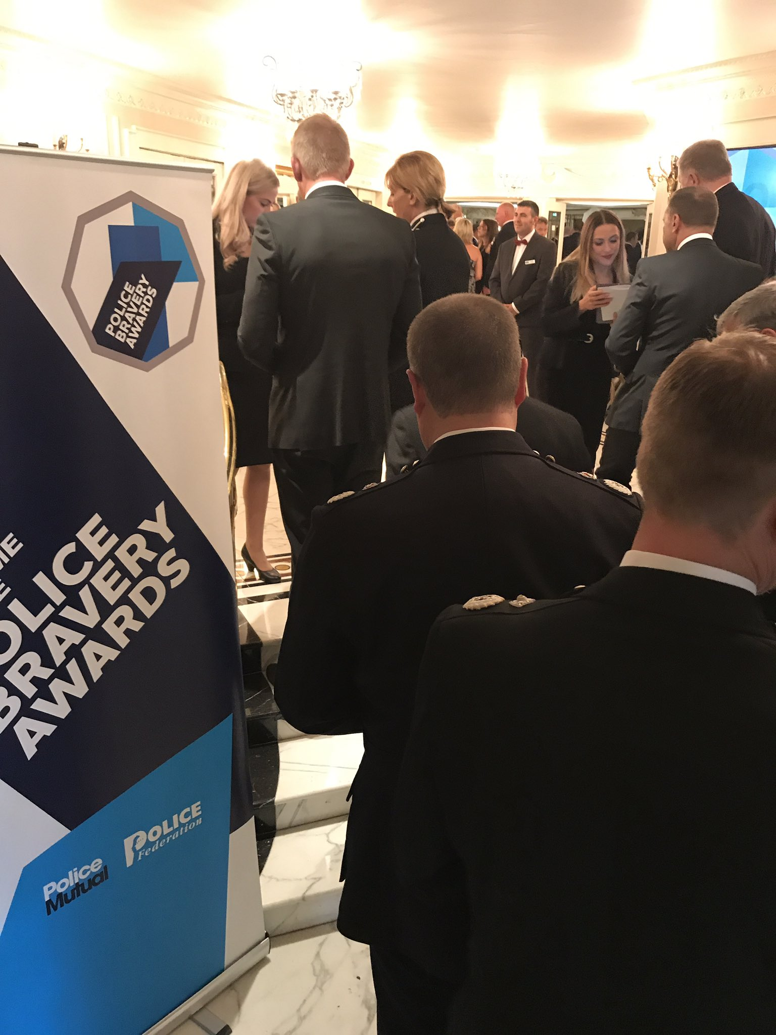 Tonight's #PoliceBravery awards will shortly be starting as our guests begin to arrive https://t.co/Siwxuo0NMm