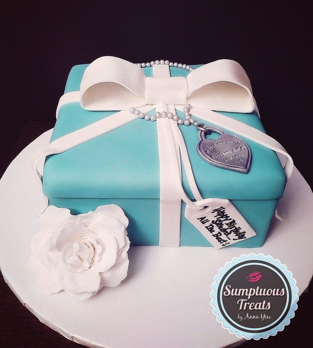 Prime Sumptuous Treats On Twitter Tiffany Co Inspired Gift Box Funny Birthday Cards Online Benoljebrpdamsfinfo