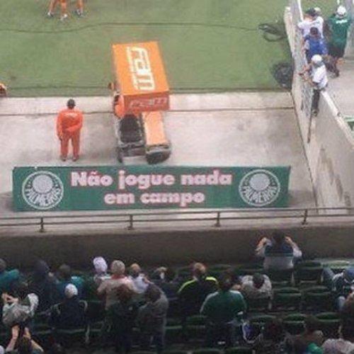 Palmeiras manda retirar placa do Allianz Parque: 'Os jogadores acharam que o recado era para eles' https://t.co/AOmUpOH1md