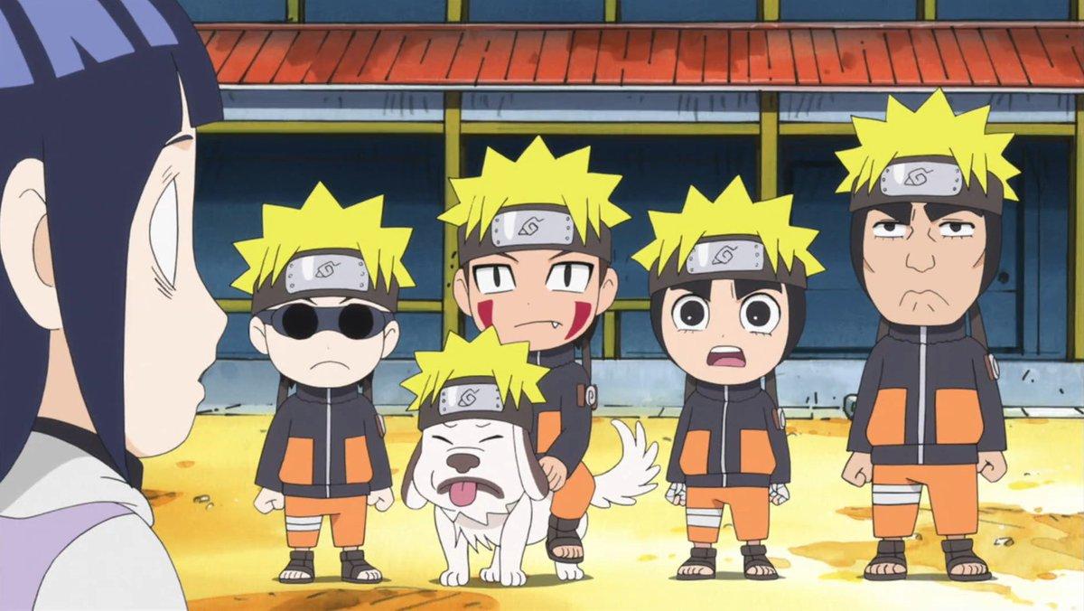 Naruto Spin-off : Rock Lee and his ninja pals