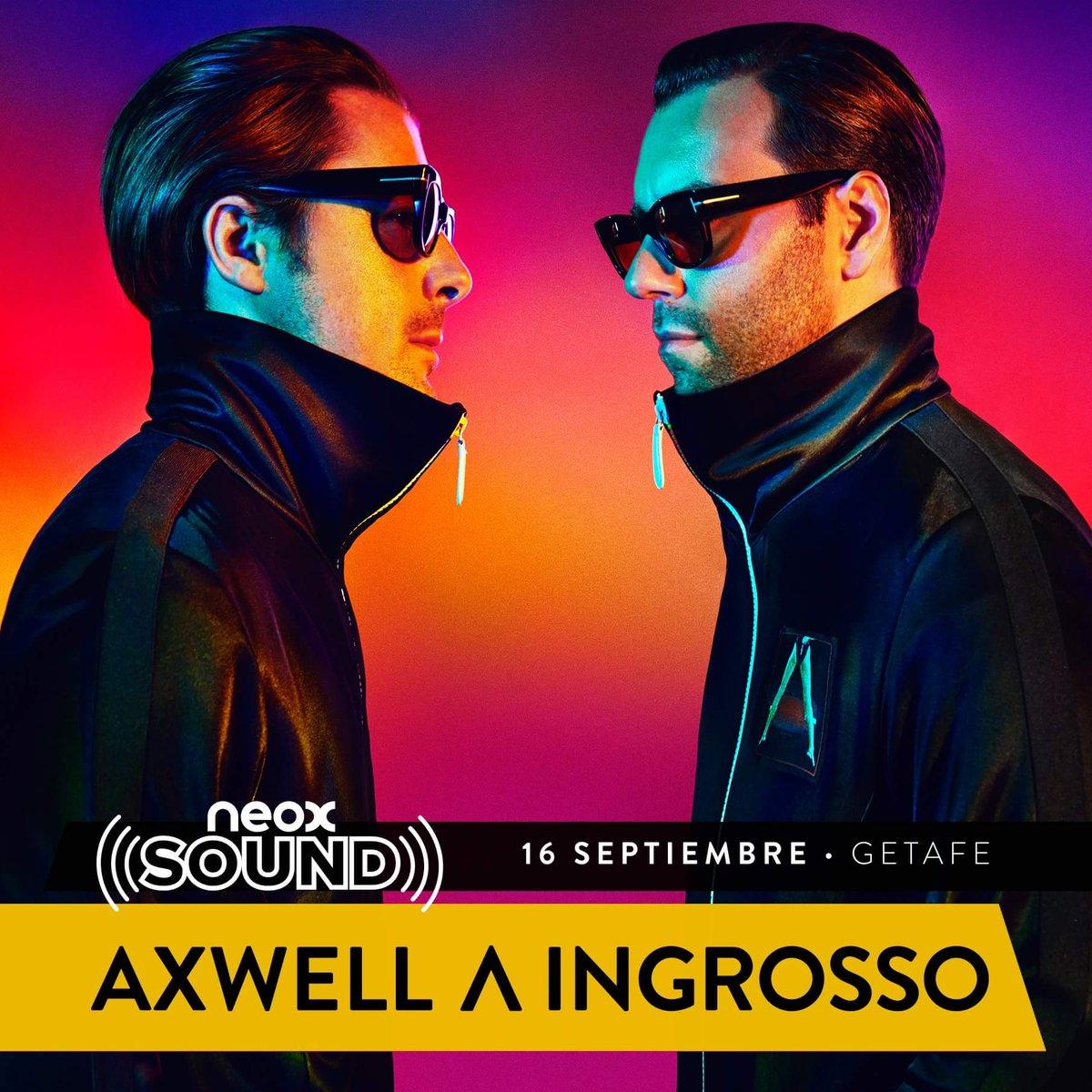 16 de septiembre @NeoxSound con:  Axwell /\ Ingrosso.  #NeoxSound https://t.co/E4S41yC9Z0