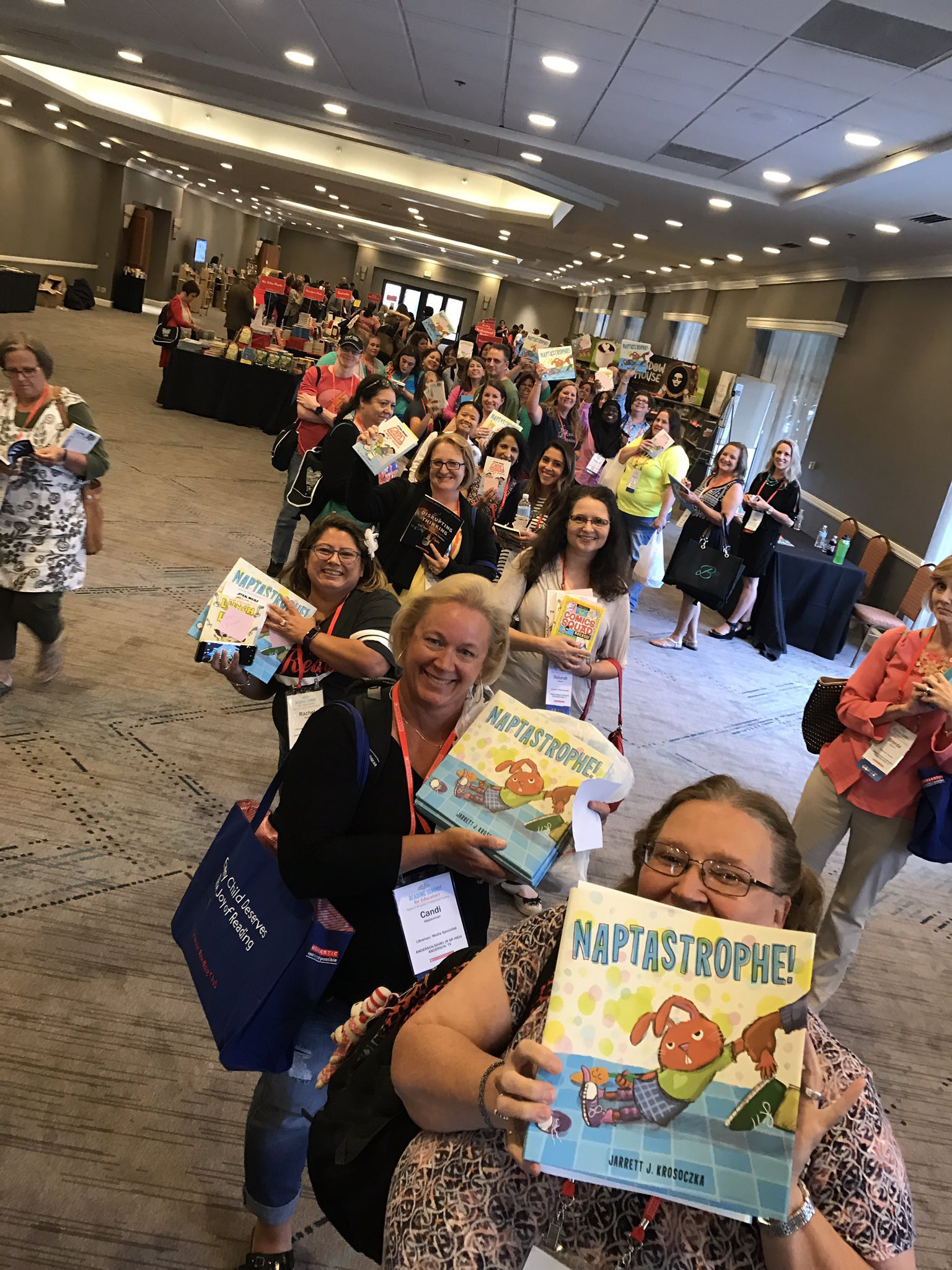 Thumbnail for 2017 Scholastic Book Fairs Reading Summit