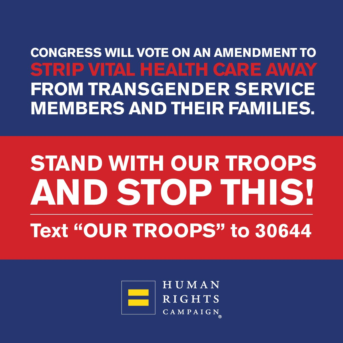 #Transgender service members risk their lives to protect this nation & they deserve the health care that will protect them. #NDAApic.twitter.com/UpPHc6G1JD