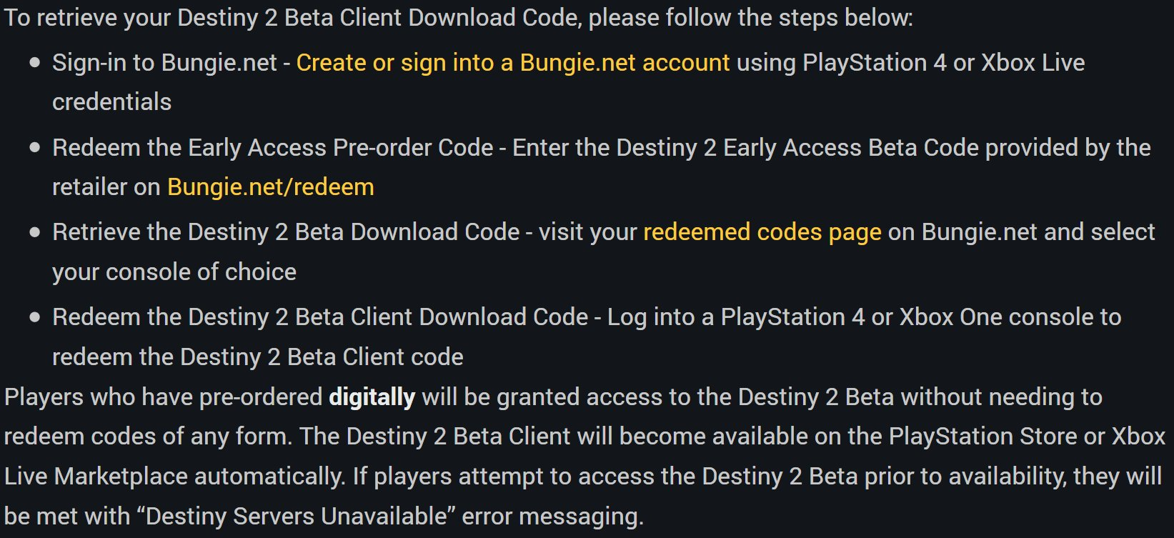 Pre order code recovery form - Planet Destiny On Twitter Beta Faq Https T Co Teqy2ullqq Https T Co Rretsnl7re