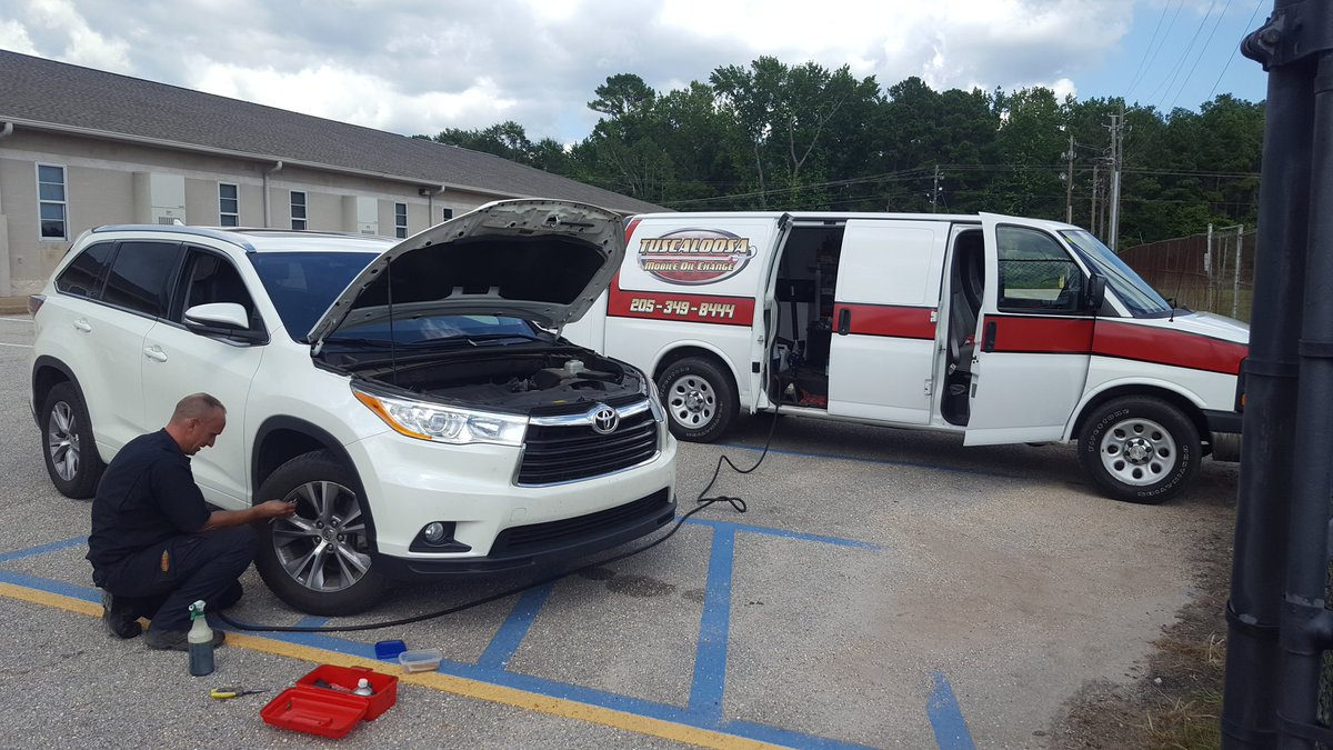 Mark Garner On Twitter Shoutout To Mike Kowzan And Tuscaloosa Mobile Oil Change For Taking Care Of Beths Ride Today While I Cut Grass