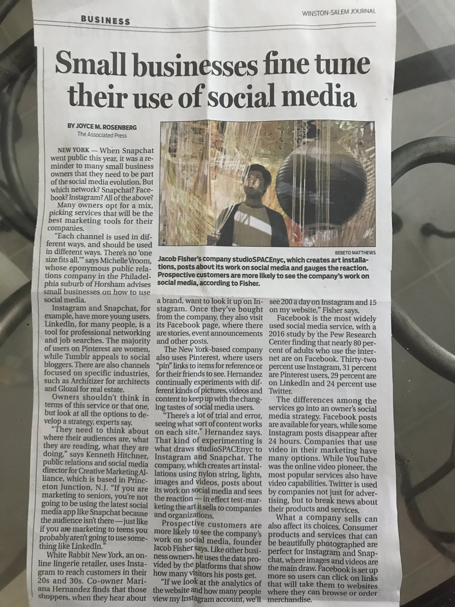 You know your momma is proud of your business venture when she mails you articles about #smallbusinessowners and #socialmediamarketing <br>http://pic.twitter.com/IepdrVPx0r