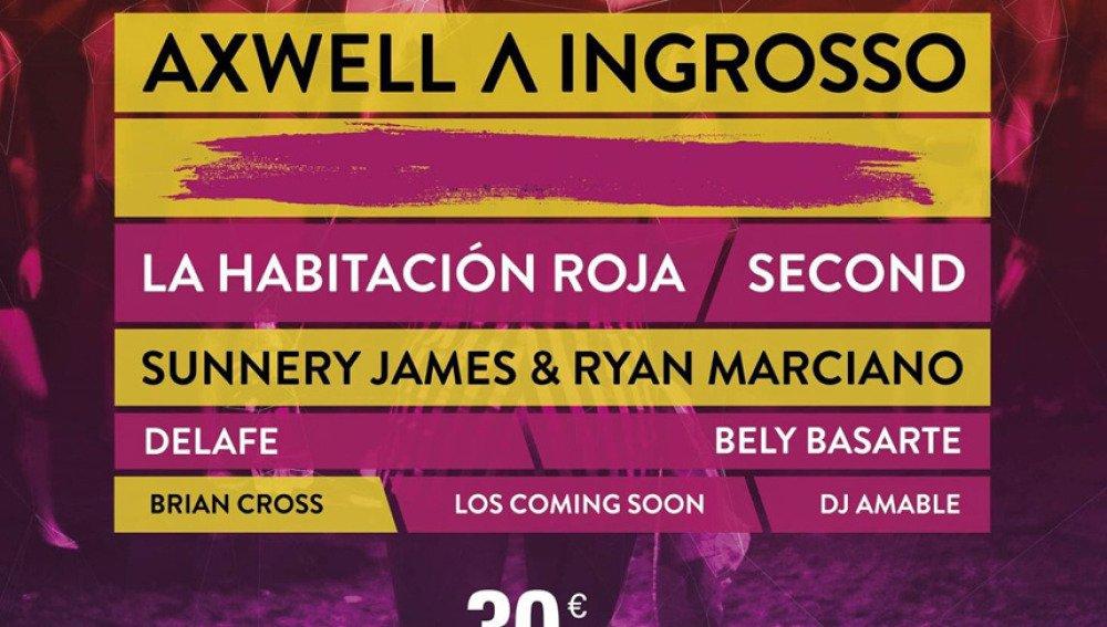 Neox Sound Festival 2017: Axwell Λ Ingrosso, La Habitación Roja, Second, Delafé, Brian Cross... https://t.co/79rXMkAEFP https://t.co/qdbteeq1BH