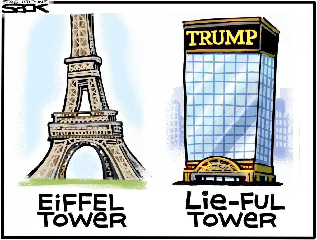 #Sack salutes Trump&#39;s trip to Paris. <br>http://pic.twitter.com/2FmrxT6Nr6