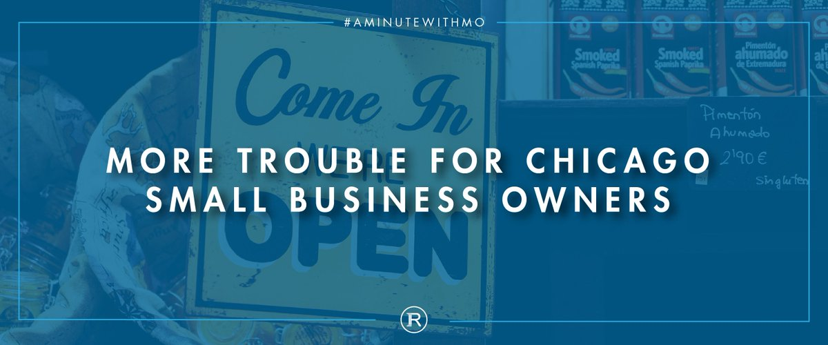 New bill makes it even harder for #Chicago #SmallBusinessOwners to obtain necessary licenses. Read more on the blog  https:// goo.gl/AcHQgX  &nbsp;  <br>http://pic.twitter.com/AjGPJvzqMo