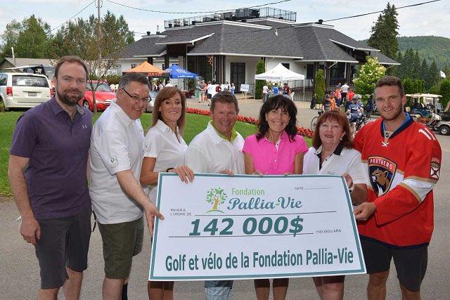 Un bel événement pour une très belle cause #pallia-vie #golf #velo