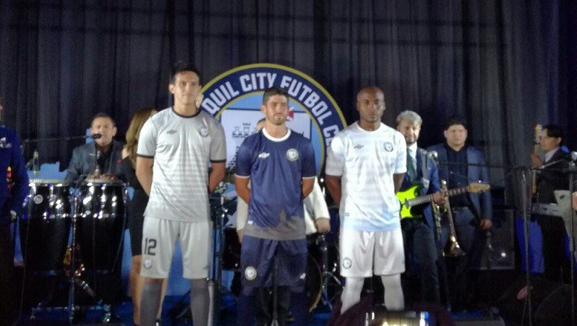 Guayaquil City FC presentó su nuevo uniforme