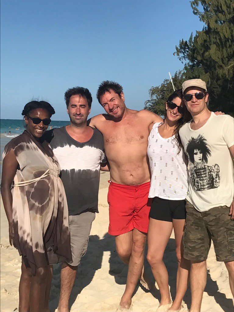 Great @duranduran day off at Kailua beach today. It's paradise here! https://t.co/P9N6eyWNqj