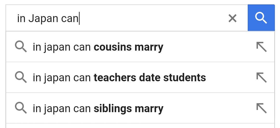 Japan dating cousins