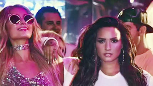 Demi Lovato and Paris Hilton Party It Up in a Music Video Teaser for'Sorry Not Sorry' https://t.co/AgGuPphpPd