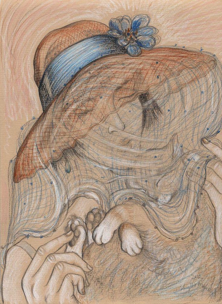 Feline fantasy - summer siesta by @phyllismahon via @artfinder #pencil #drawing #art <br>http://pic.twitter.com/SwEWCgHuxX  http:// artf.in/me4mDg  &nbsp;