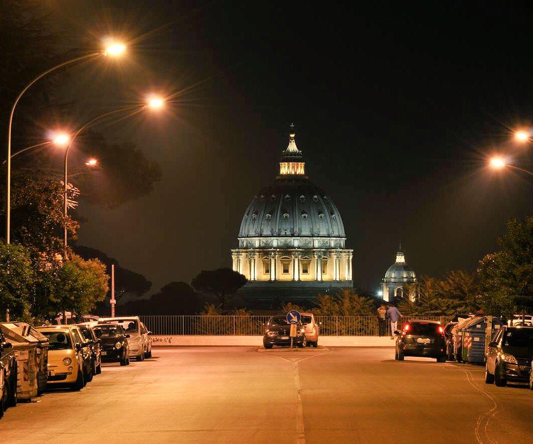 Rome and Saint Peter's Basilic vi @Mustapha1508 #travel #Italy #vatican #beautyfromitaly