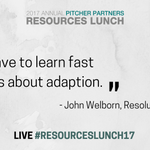 Image for the Tweet beginning: LIVE John Welborn @ResoluteLtd #ResourcesLunch17