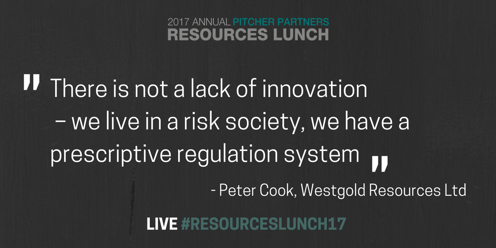 Views from expressed at the #ResourcesLunch2017 are still sparking discussion in our office.