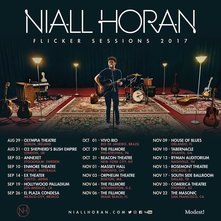 Congrats to @NiallOfficial for Selling out the @Enmore_Theatre in 60 seconds 🔥