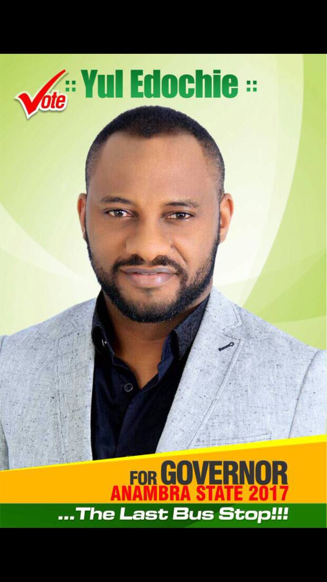 Yul Edochie wants to contest to be the next Governor of Anambra state