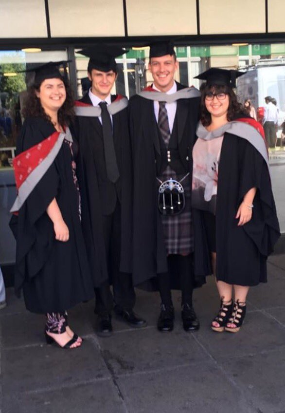 Big congrats to these 4 (& the others) who studied BSL & Deaf Studies @UCLan,  #UCLanGraduates #deafstudies #tsli #bsl #interpreters https://t.co/0uC82CNPUe