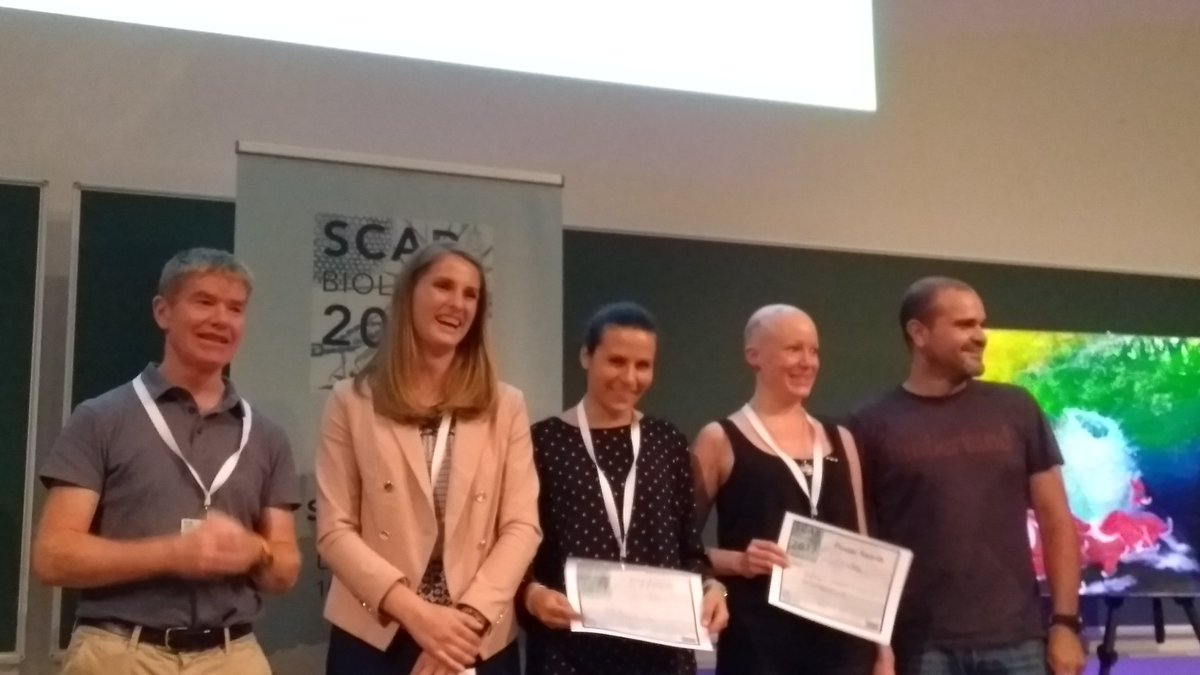 #SCARbio17 early career presentation awards handed over @Polar_Research @SCARBIO17<br>http://pic.twitter.com/lIn1Xy4dzF