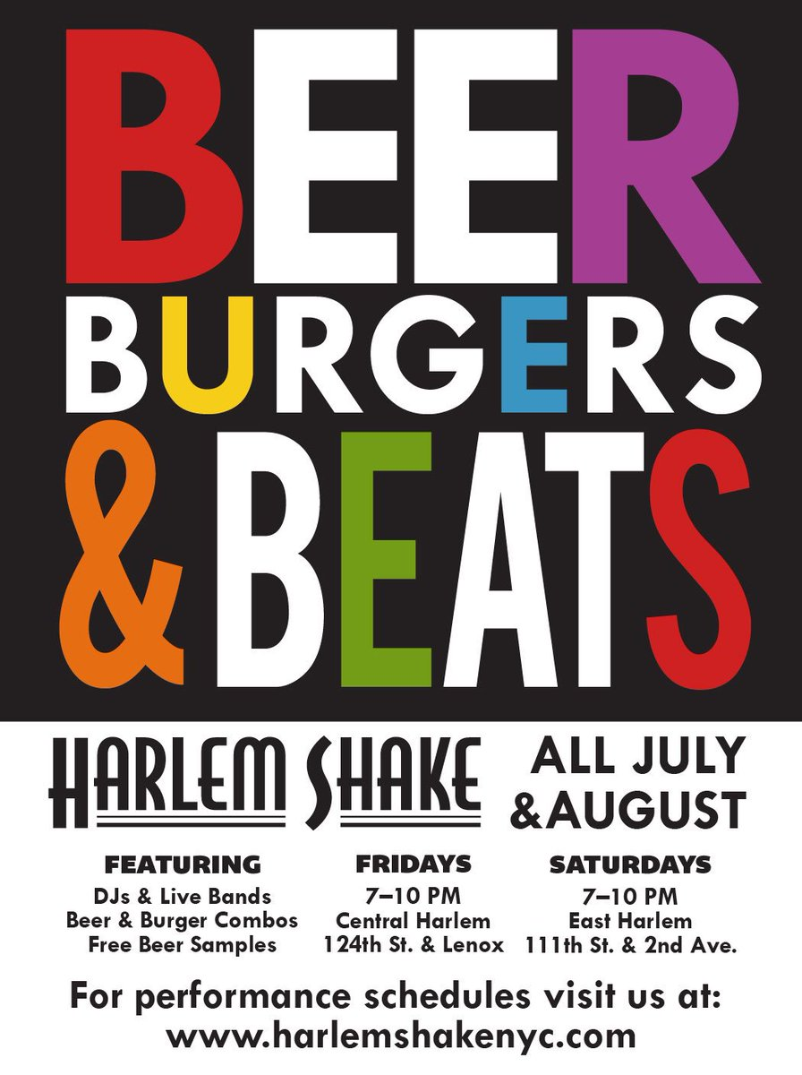 harlem shake on twitter grab a burger beer and listen to some