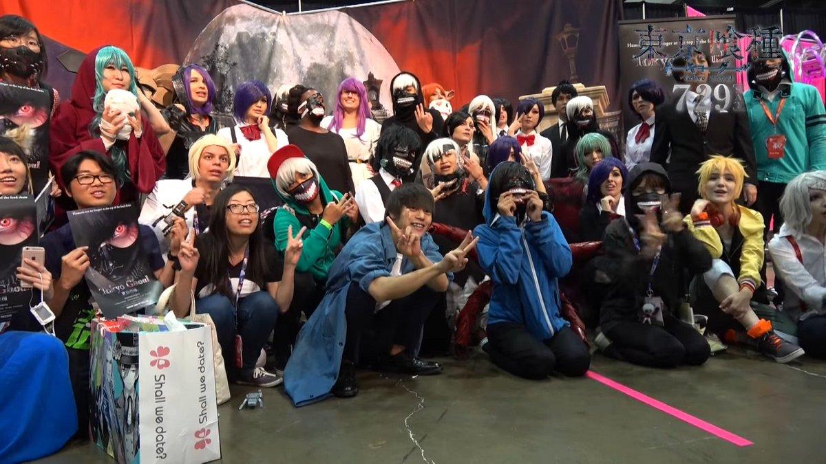 Unleashthegeek On Twitter Kubota Masataka At Anime Expo 3rd July For World Premiere Of Live Action Tokyo Ghoul Tco KXQ5HU8ZwE