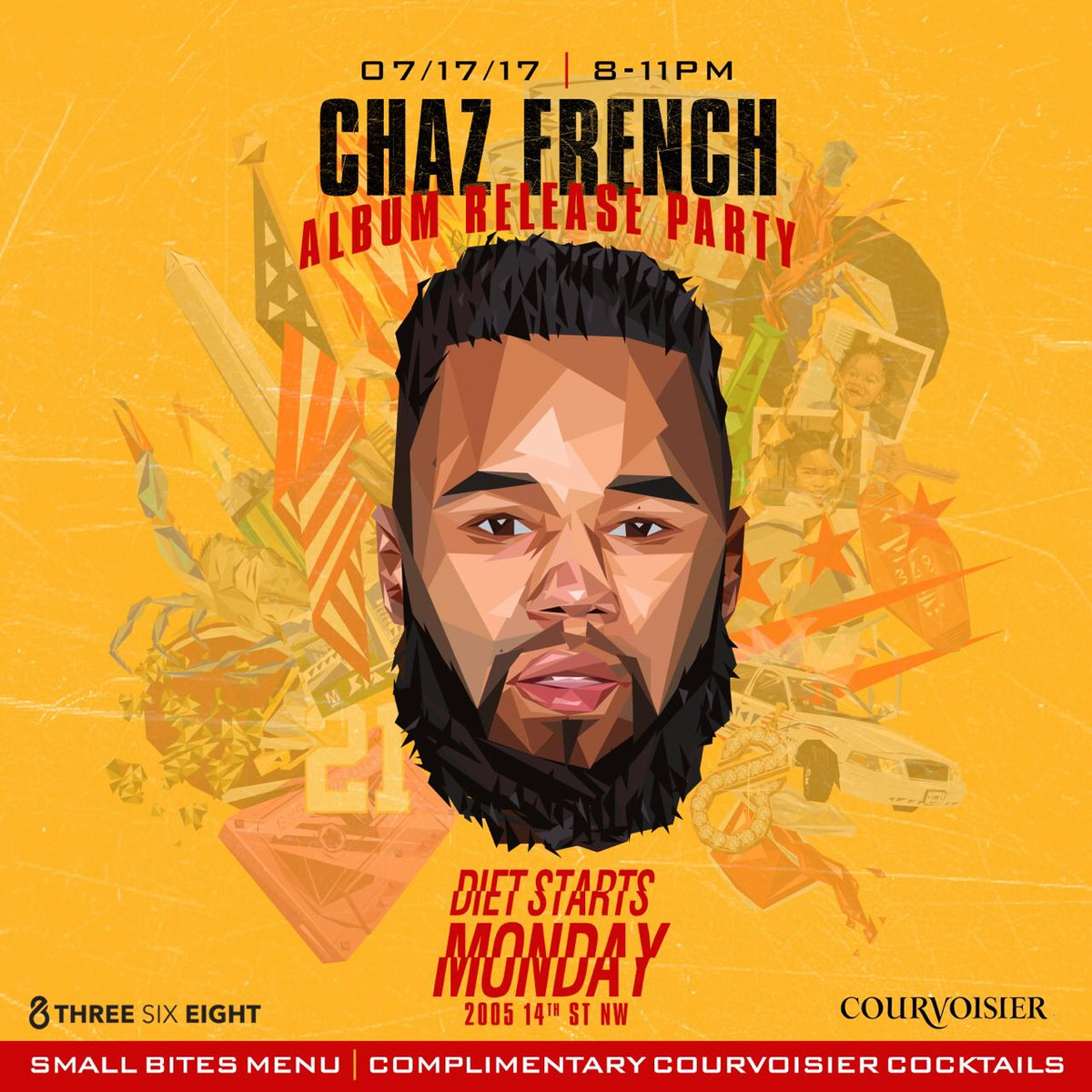 Join us Monday at @dietstartsmon__ for the official @ChazFrenchMusic True Colors album release party ! https://t.co/j3lSOT7yuk