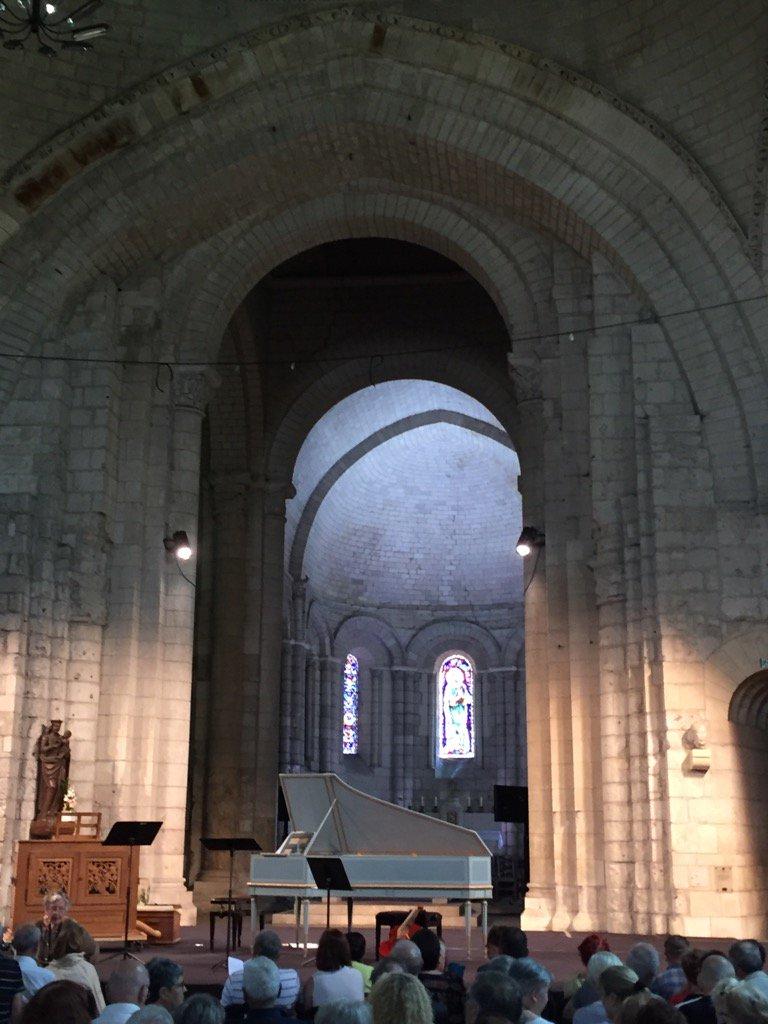À Nocte Temporis joue Clérembault - Abbaye au Dames - Festival de Saintes https://t.co/j7ePF4o26H