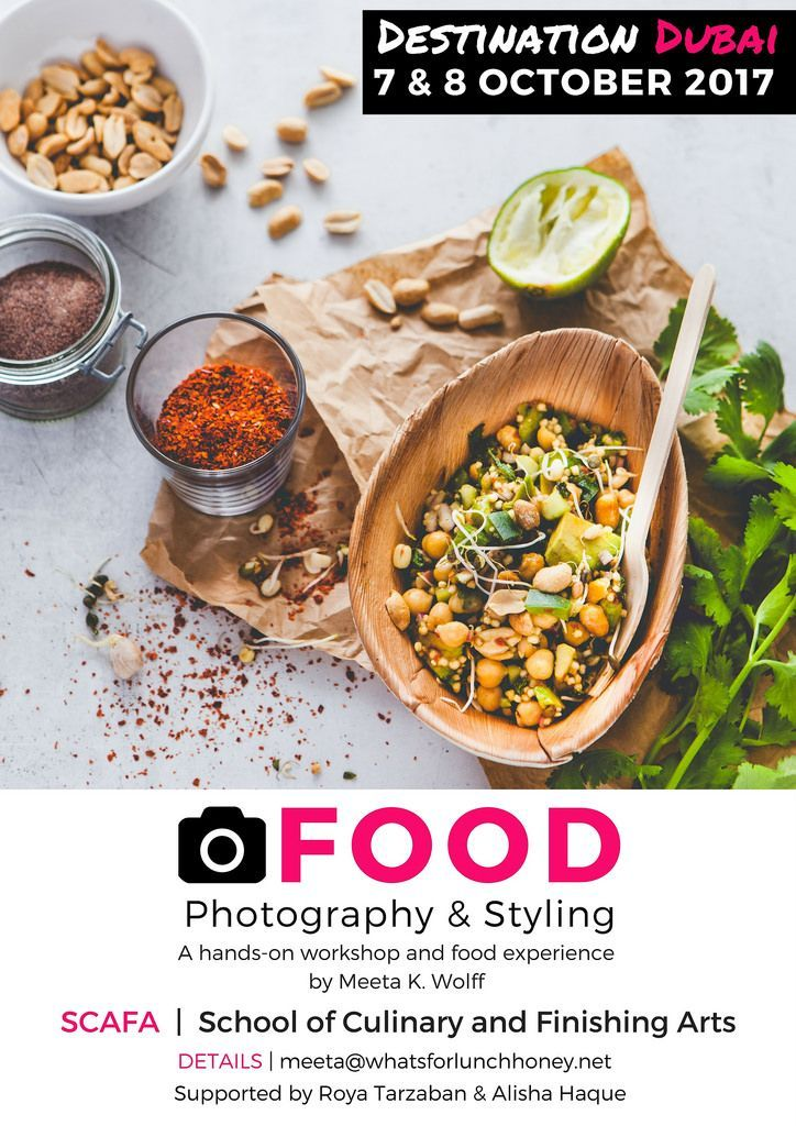 Create unique food/lifestyle images > Destination Dubai: A hands-on workshop & Food Experience https://t.co/jSEPGVqZqx #destinationdxbfoto17 https://t.co/tJH2f9JKMy