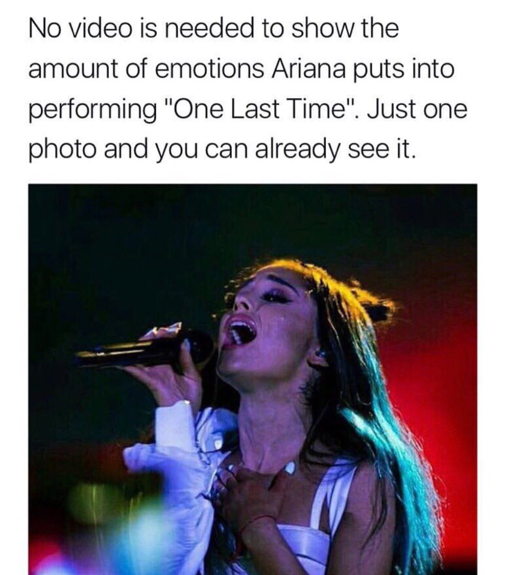 @ArianaGrande i love you #OneLoveManchester #1YearOfDangerousWoman #DangerousWomanTour<br>http://pic.twitter.com/huxaWsBy12