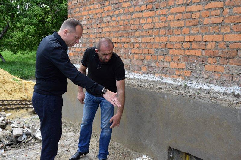 Николай Терехов проконтролировал ход ремонтных работ