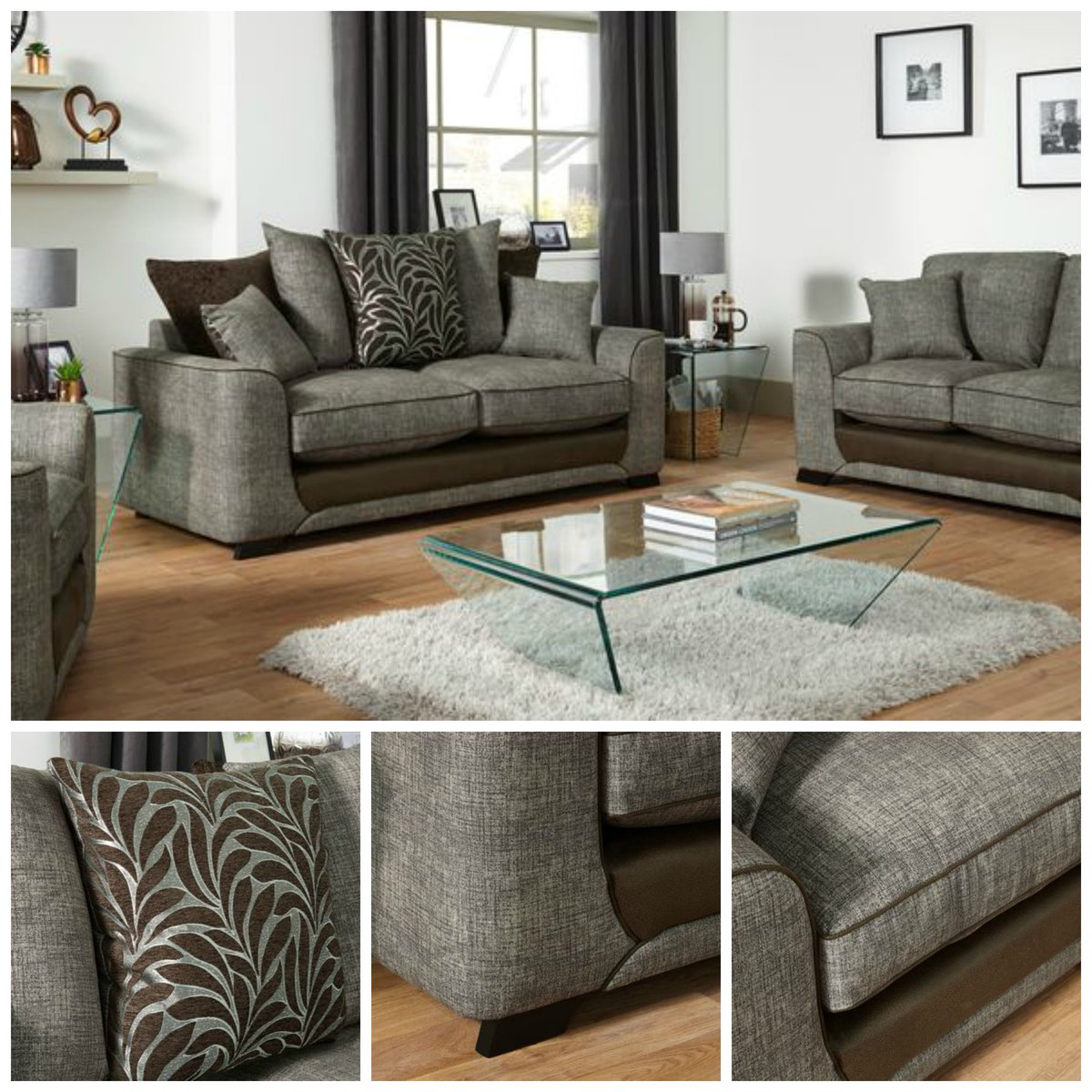 Scs Sofas On Twitter Add Some Style To Your Home With This Reuben 3 Seater Terback Sofa Now Only 399 Https T Co K2fycr2slk
