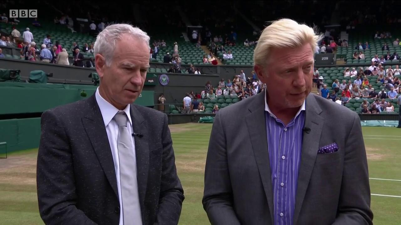 Afraid not John, this is Roger Federer we're talking about �� #Wimbledon https://t.co/a91NBJpYuE